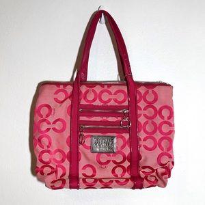 Coach ♡ Poppy | signature print bag